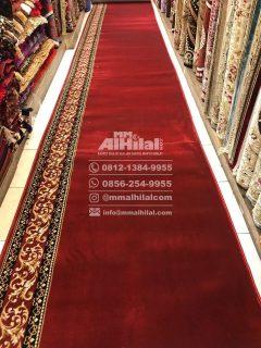 Karpet Masjid Seri Grand Mosque merah polos