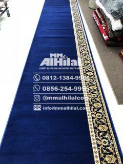 Karpet Masjid Medium Blue Mosque