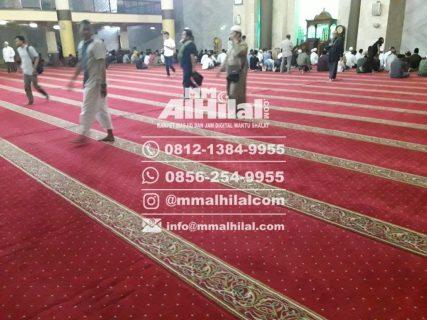 Karpet masjid Tasikmalaya
