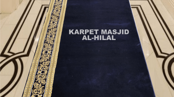 Karpet Masjid Royal Tebriz Import Tebal