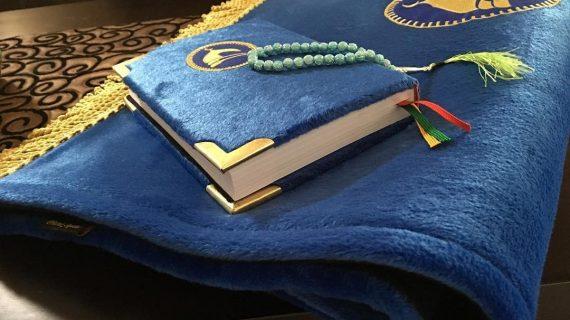 Sajadah Imam Premium Halus dan Lembut Warna Biru