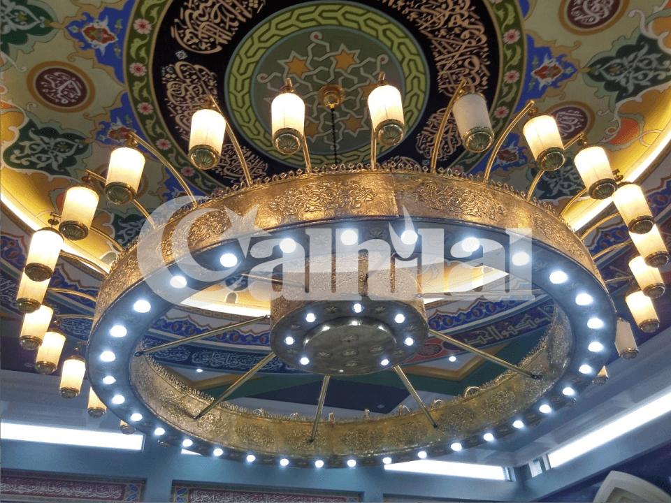 lampu masjid gantung