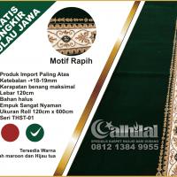 Karpet Masjid Super Premium Warna Hijau Tua